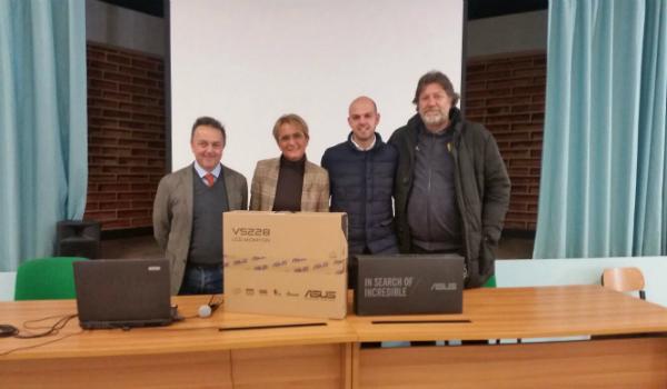Donazione Istituto Comprensivo G. Lucatelli - IFG - il freno - Ricambi Veicoli Industriali