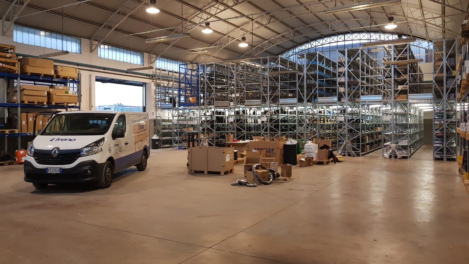 Sede Cesena IFG - il freno - Ricambi Veicoli Industriali, autocarri e bus