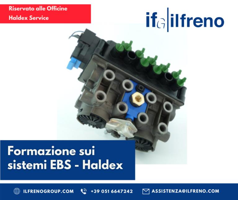 Corso di formazione Haldex - sistemi di frenata EBS - IFG - il freno - Ricambi Veicoli industriali, autocarri e bus