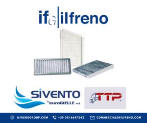 Promozione filtri abitacolo della Sivento - IFG - il freno - Ricambi veicoli industriali, autocarri e bus